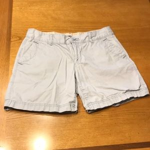 Eddie Bauer light blue shorts, 4